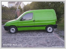 Авто продаю Peugeot Partner Origin 1.4 MT